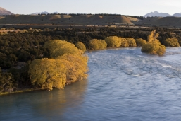 Natural_NZ_landscape_the_mighty_Clutha_River_above_the_red_bridge_at_Luggate_Central_Otago_near_Wanaka_Airport