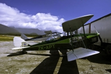 DH_83_DH_84_Gipsy_Moth_and_Dragon_Fly_at_Haast_Aerodrome_December_2009
