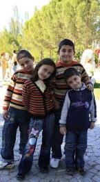 Four_Turkish_children_near_Aphrodisias